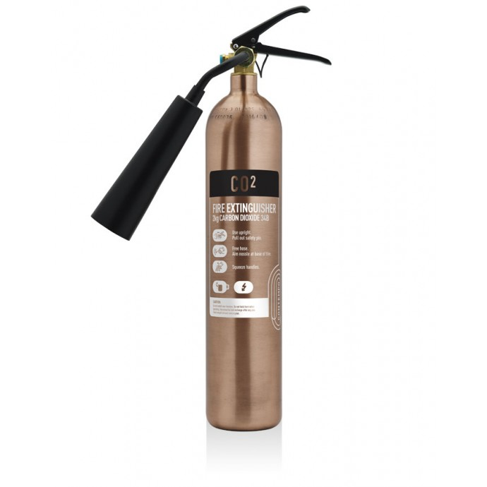 2kg CO2 Brushed Antique Copper