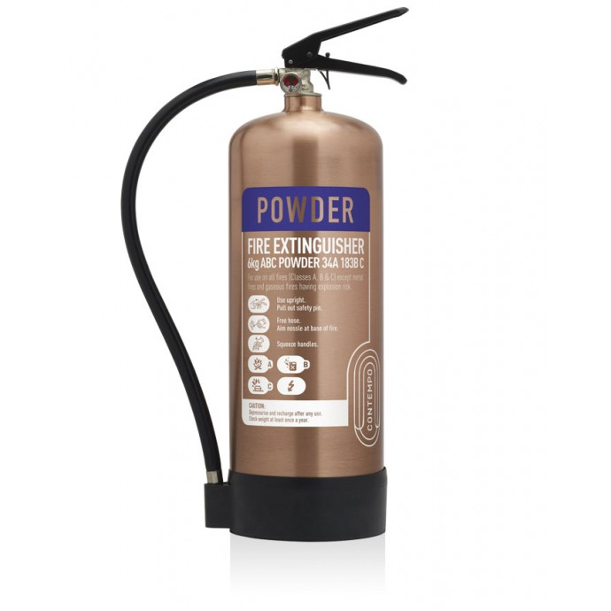 6kg Powder Antique Copper Fire Extinguisher