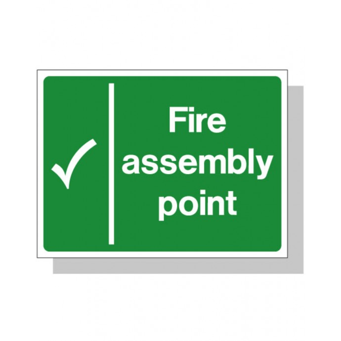 Fire Assembly Point Sign RP
