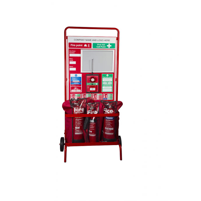 Fire Point Stand – Wheeled