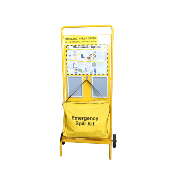 Fire Point Stand Yellow – Wheeled