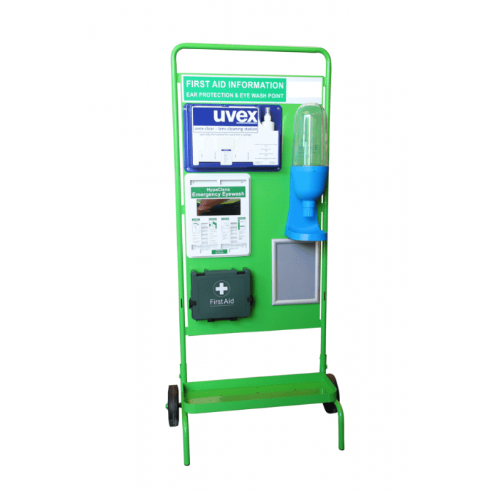 Fire Point Stand Green – Wheeled