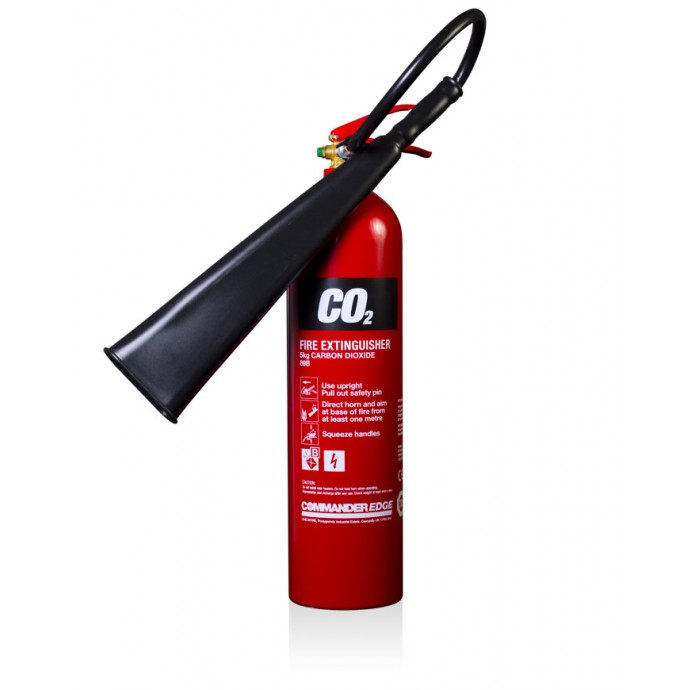 CommanderEDGE 5kg CO2 Aluminium
