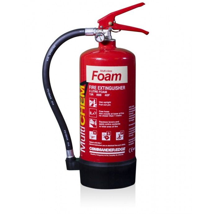 CommanderEDGE MultiCHEM Fire Extinguishers