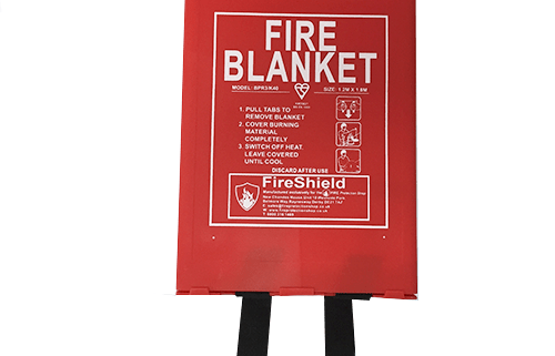 Fire Blanket - Hard Case
