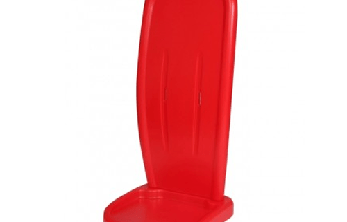 Red Single Two-Part Extinguisher Stand