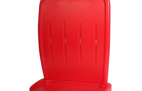 Red Double Two-Part Extinguisher Stand
