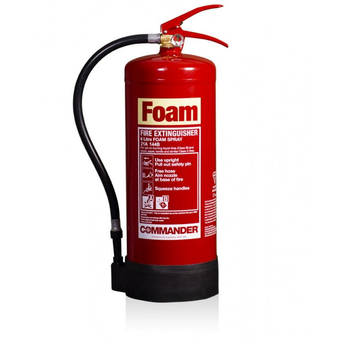 Commander 6ltr AFFF Foam