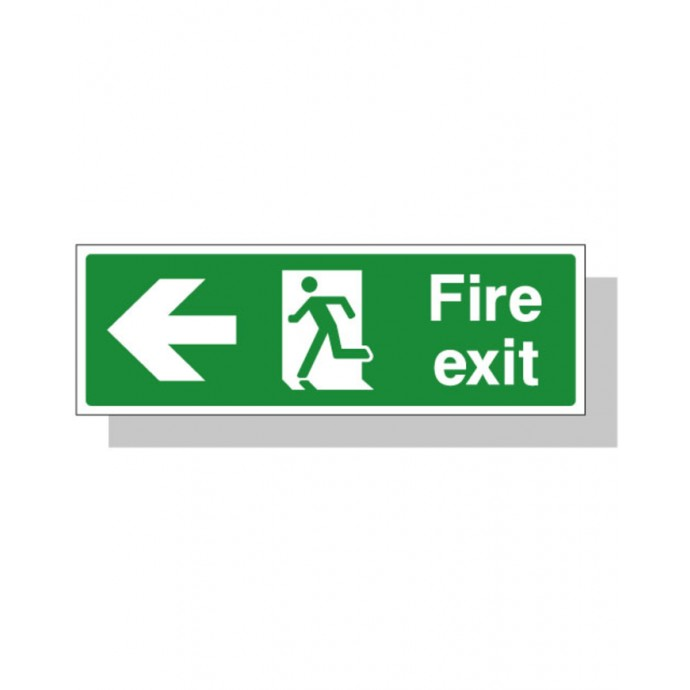 Fire Exit Sign – Left Direction