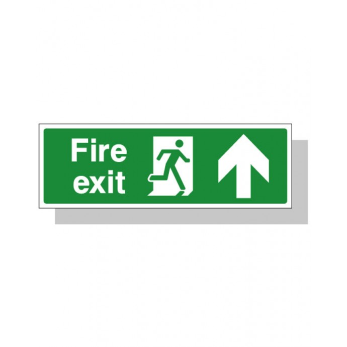 Fire Exit Sign – Up Direction
