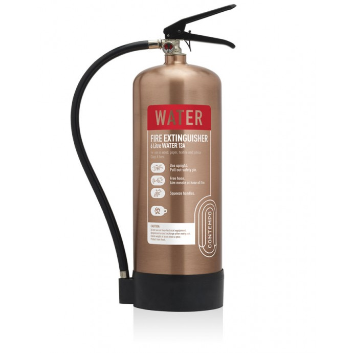 6ltr Water Antique Copper Fire Extinguisher