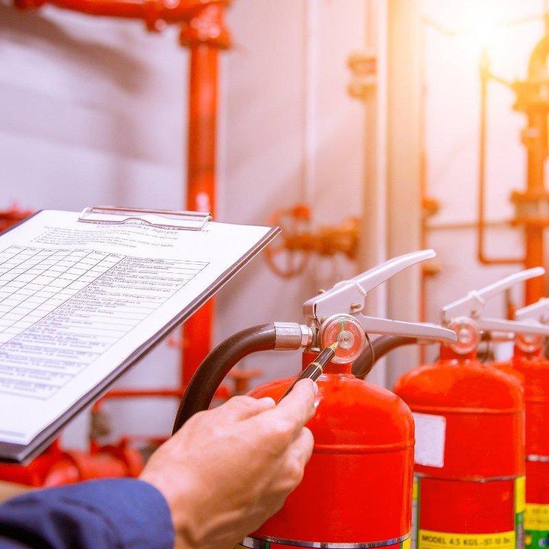 Fire extinguisher checks