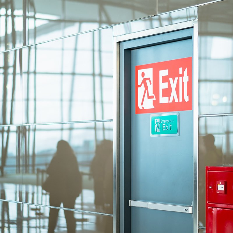 Fire Risk Assessment - fire exit